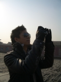 Jae at the Forbidden City in Beijing